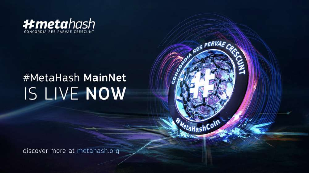 #MetaHash Opens MainNet and Starts Coin Distribution for the Upcoming Forging