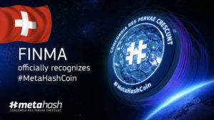 FINMA has Officially Recognised #MetaHashCoin as the Utility Token