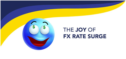 The Joy of FX Rate Surge