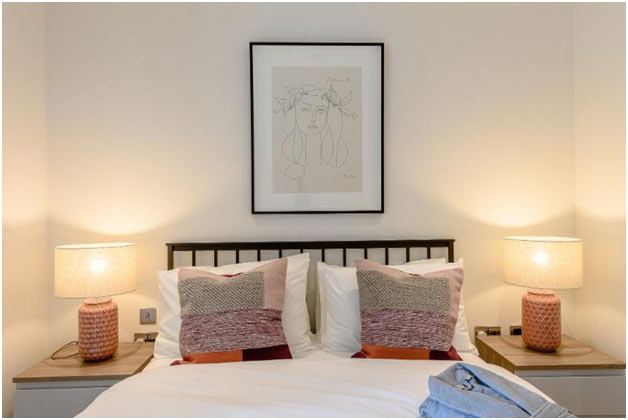 3 bedroom furnished Landsby apartment