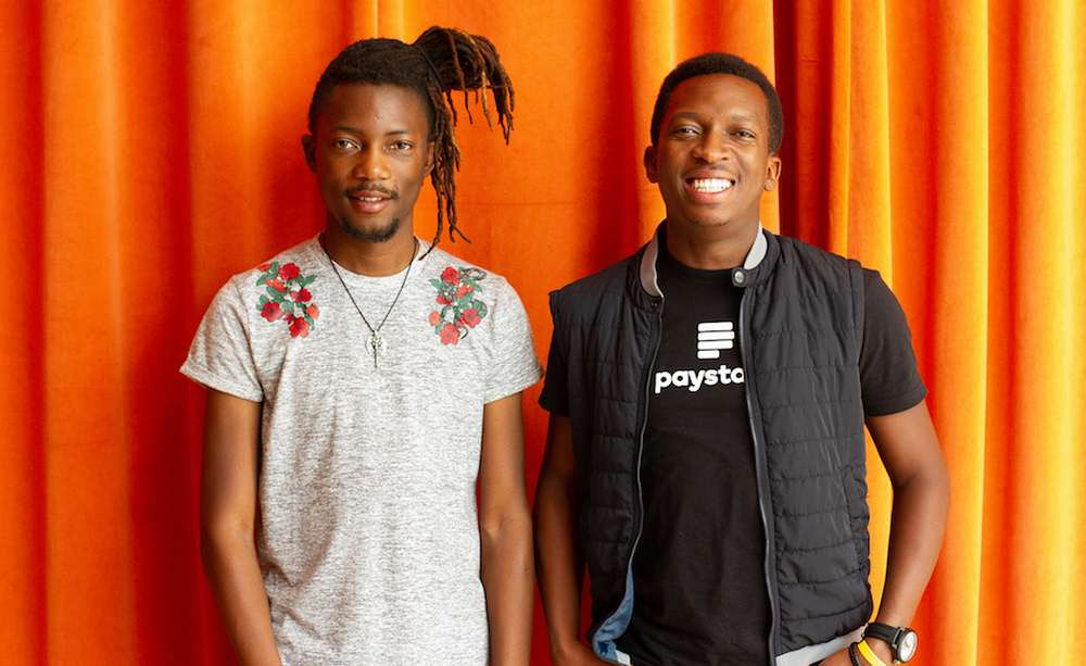 Paystack Co-Founders CEO Shola Akinlade (right) and CTO Ezra Olubi (left)