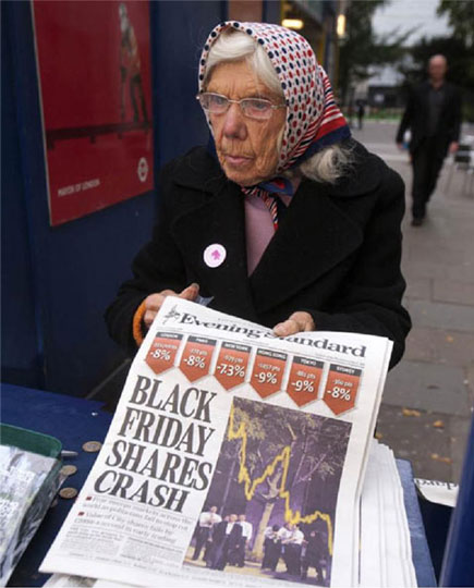 Searing street photographs taken during the financial crisis cast a critical eye over the City of London 1