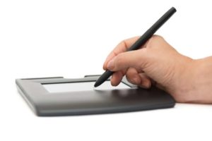 Digital age sees traditional signature dying out