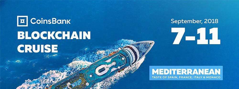 2500 crypto industry representatives sailing through Mediterranean with the Blockchain Cruise.