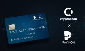 Paymon and Cryptocean Announce the Launch of Crypto Debit Cards.