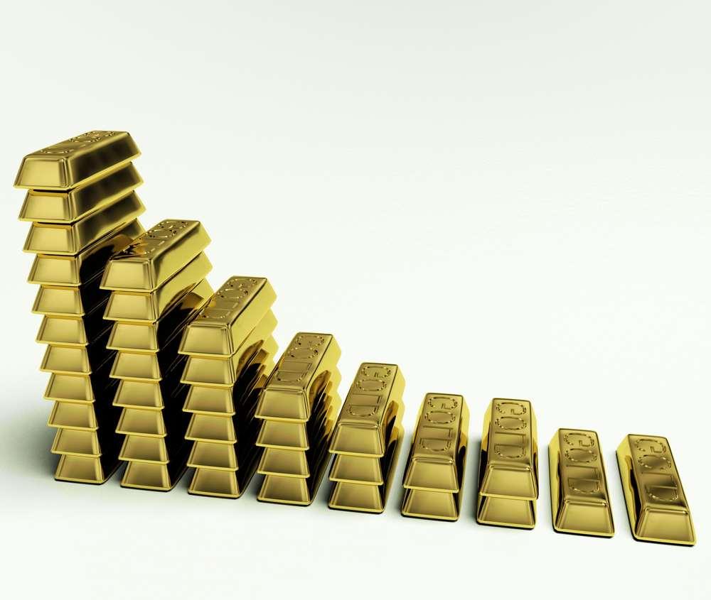 3 factors causing the slump in gold prices