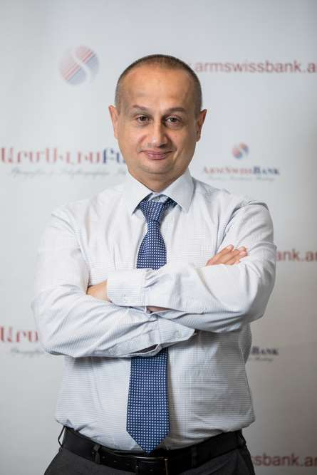 Mr. Gevorg Khachatryan, Management Board Member and Deputy CEO-Director of Customer Service Department at ArmSwissBank