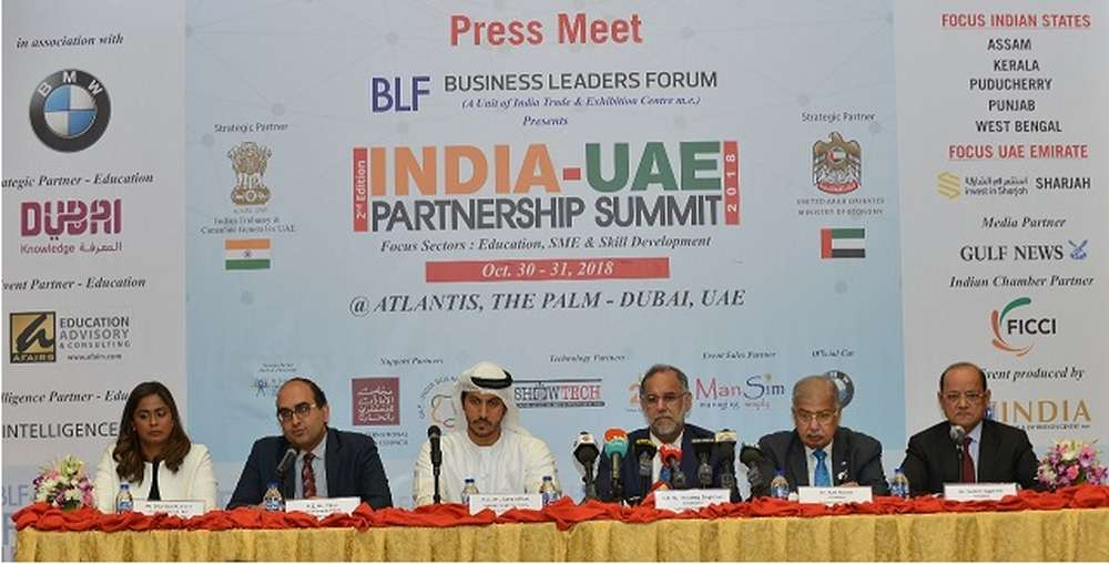 India-UAE Partnership Summit2018 gets ready as India's growing economy attracts increased investment from GCC