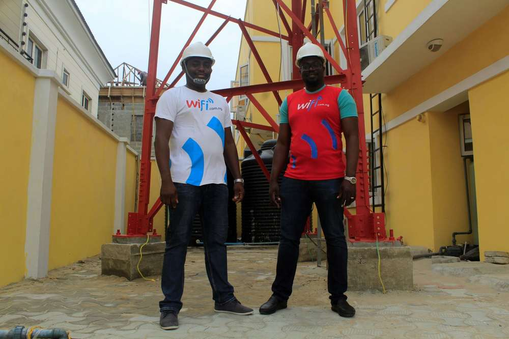 Tizeti Co-Founders (l-r) Ifeanyi Okonkwo (COO) and Kendall Ananyi (CEO) LR