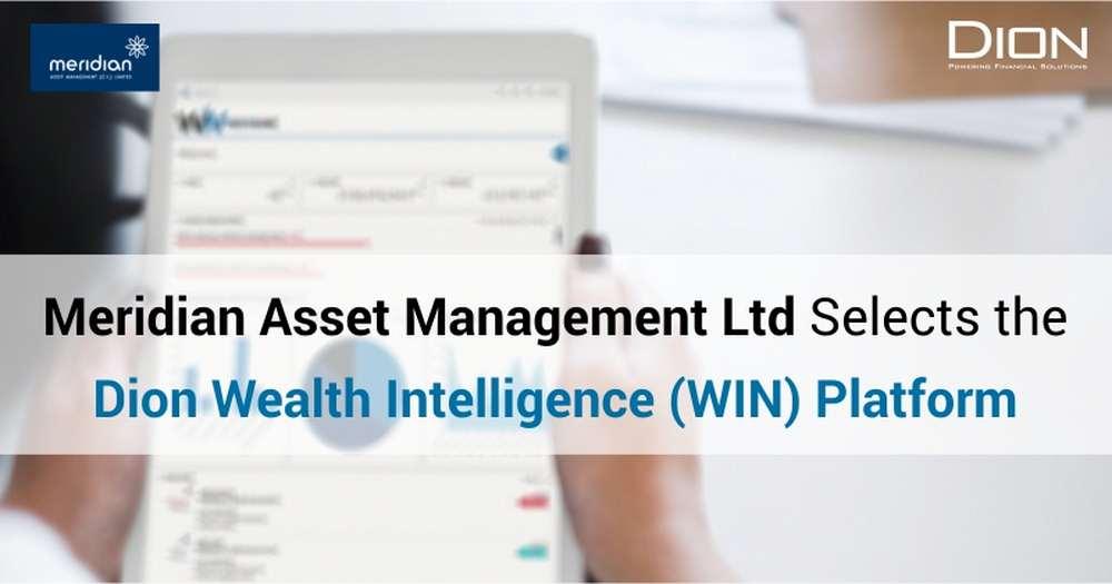 Meridian Asset Management(C.I.) LtdSelects the Dion Wealth Intelligence Platform