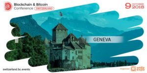Geneva will host the second Blockchain& Bitcoin Conference Switzerland
