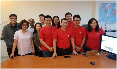 The Enovax Team behind the development of Presto E-W