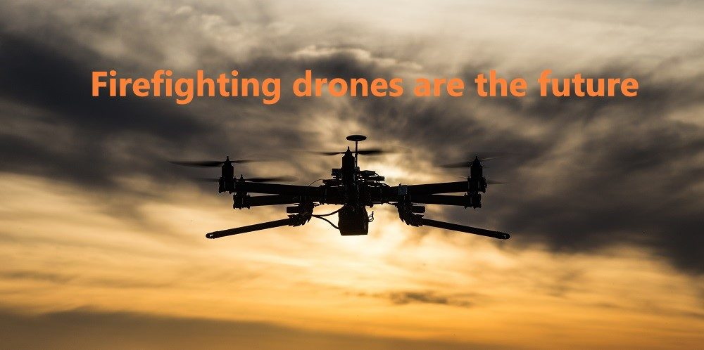 The Notre Dame disaster shows that firefighting drones are the future of fire safety, says drone expert Robert Garbett