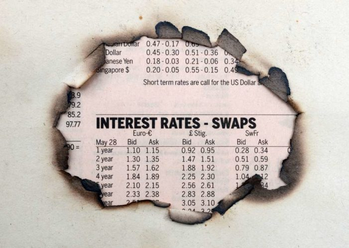 Navigating the wild swings in UK interest rate swaps