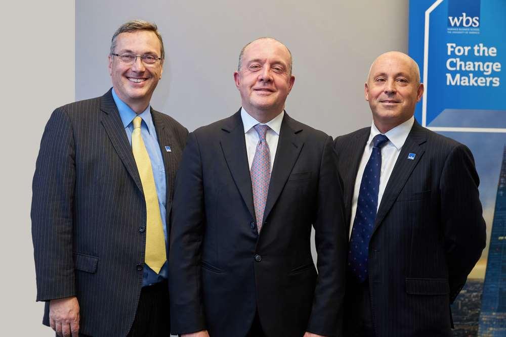 Stuart Croft, Clive Gillmore & Andy Lockett