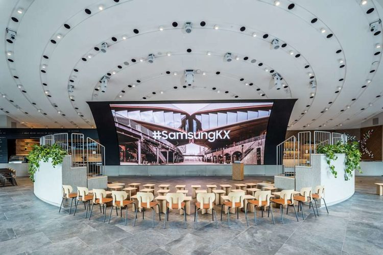 Samsung KX Redefines The Retail Job Of The Future At New London Experience Space