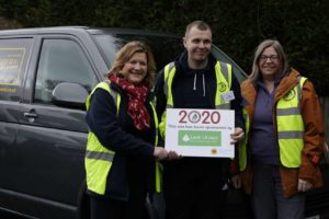 Branch Manager's 'tree-mendous' help for Hospice…