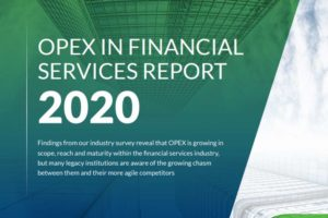 2020 Report: OPEX in the Financial Services