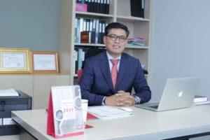 Mr. Youk Chamroeunrith, Chairman of Forte Life Assurance (Cambodia) Plc