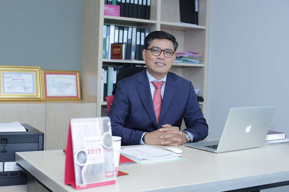 Mr. Youk Chamroeunrith, Chairman of Forte Life Assurance (Cambodia) Plc