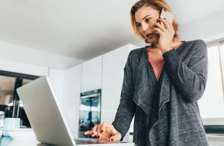 How to manage staff working from home during the COVID-19 outbreak