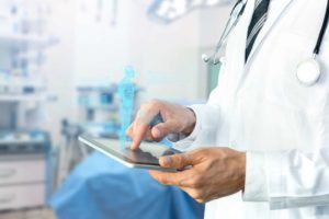 Reducing the security risks of mobile technology to improve patient care