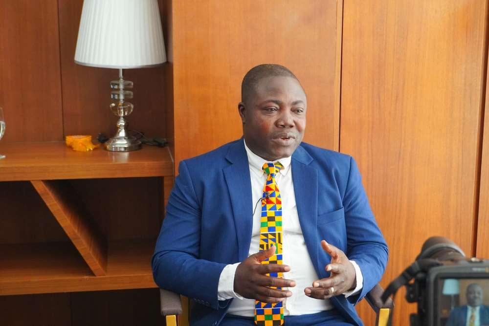 Mr Siegfried Kofi Gbadago, Acting CEO & CFO, Hayman Capital Co., Ltd