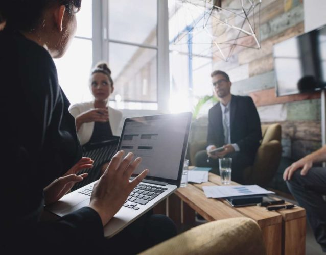 Backbase coffee break: discussing how digital strategy helps in uncertain times