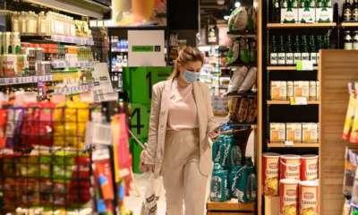 Sberbank, Azbuka Vkusa, Visa open store with Take&Go area for everyone