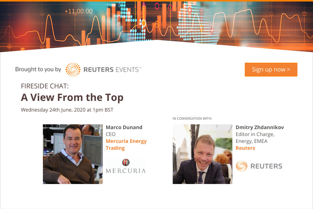 Reuters Events Fireside Chat with Mercuria CEO 1