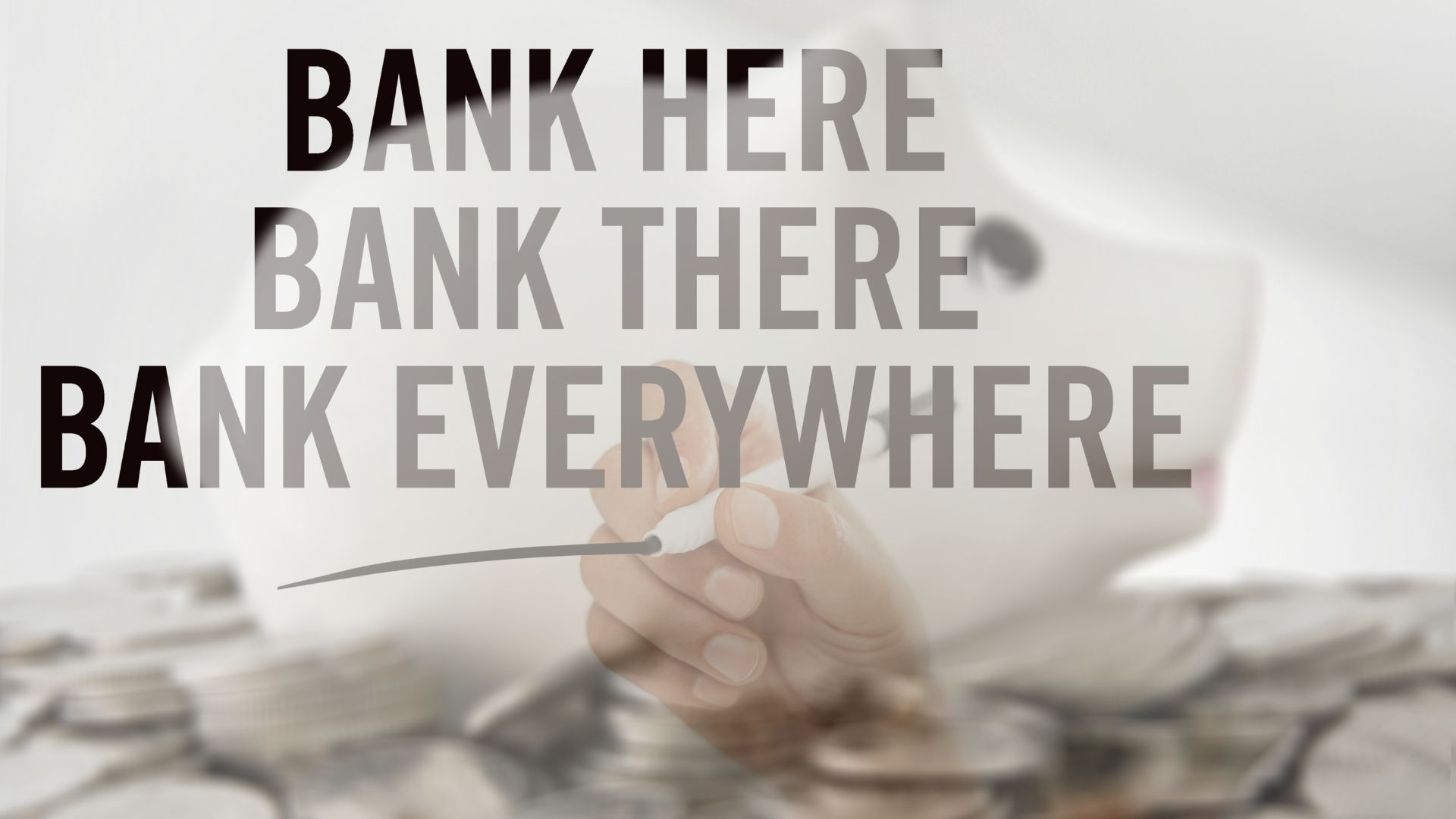 The Future of Banking is… Banking. 1