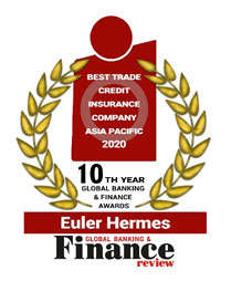 Euler Hermes Asia Pacific wins Best Trade Credit Insurance Company Asia Pacific 2020 award 1