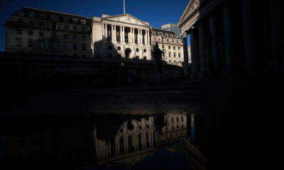 No discussion at BoE about cutting rates below zero - Bailey 27
