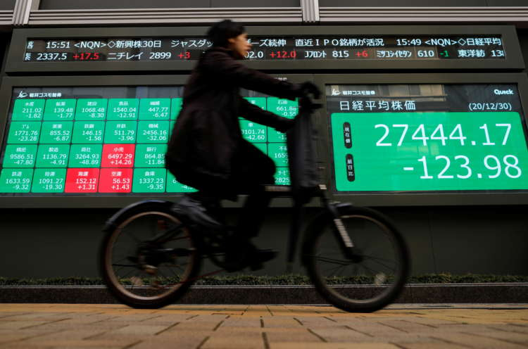 Asian markets step back from stimulus-driven record highs 8