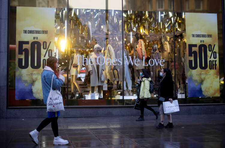 UK consumer confidence falls back in January on economy worries 12