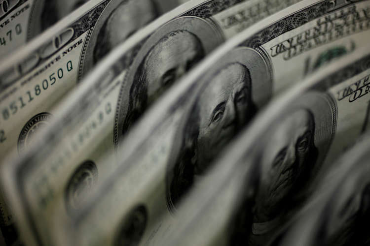 Dollar gains after three-day fall as risk rally takes a breather 1