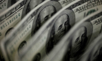 Dollar's bounce fades as risk appetite rises 9
