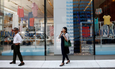Japan's consumer prices fall at decade-fast pace, add to deflation fears 7