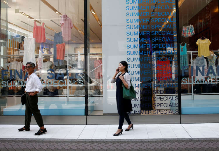 Japan's consumer prices fall at decade-fast pace, add to deflation fears 8