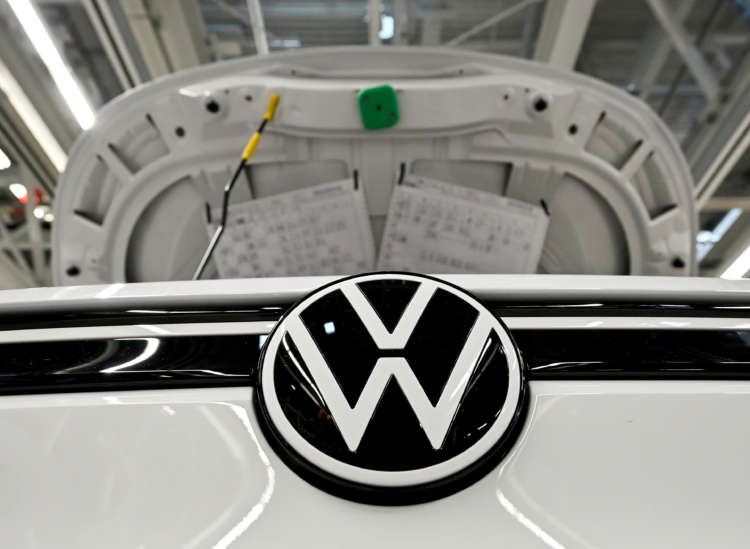 Turning corona corner, Volkswagen's profit falls less than feared 23