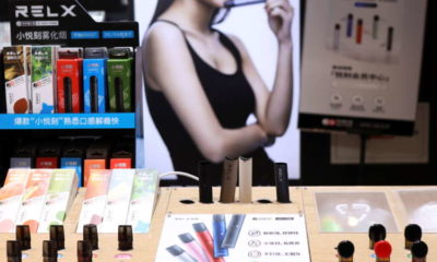 Chinese vaping firm RLX valued at nearly $35 billion in U.S. market debut 14