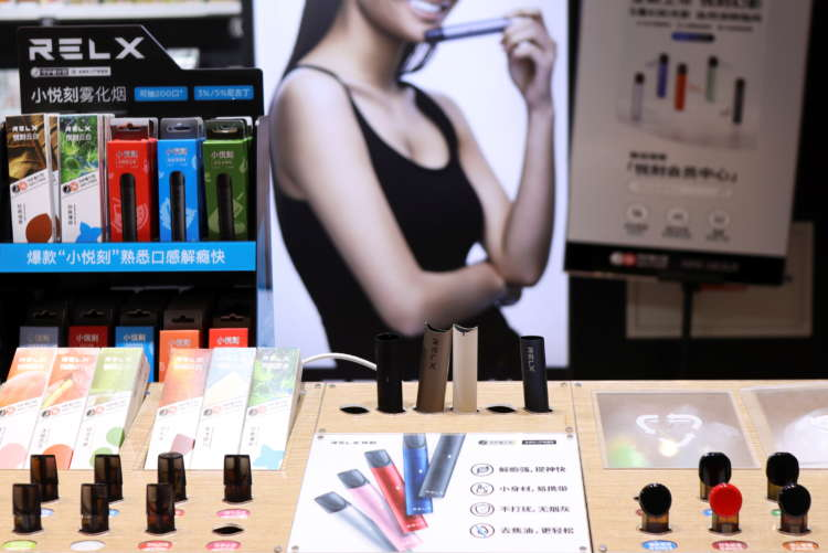 Chinese vaping firm RLX valued at nearly $35 billion in U.S. market debut 15
