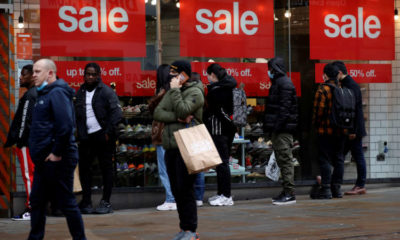 """Lockdown fatigue"" cited as UK shopper numbers rose 9% last week 20"