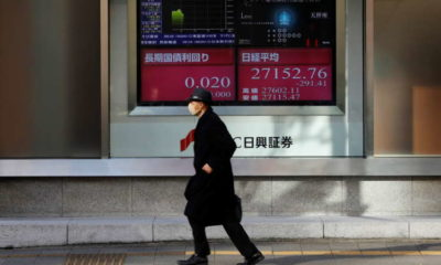 Asia shares undone by Wall Street swoon, short seller squeeze 7