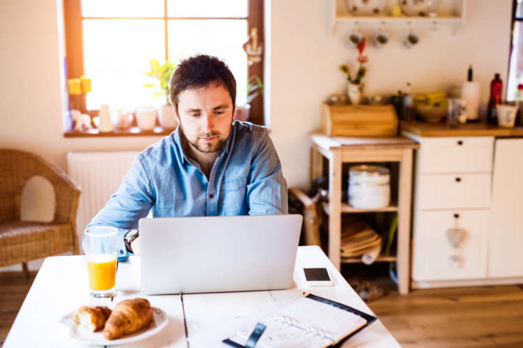 Analysis shows workers in financial services will put in an extra 22 days of work when working from home, as nearly two-thirds hope for hybrid working in future 1