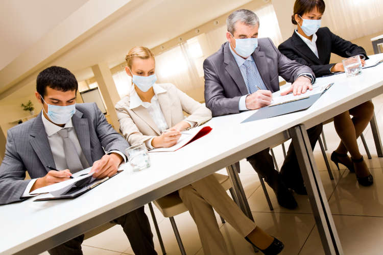 Why we have always worn a mask at work 1