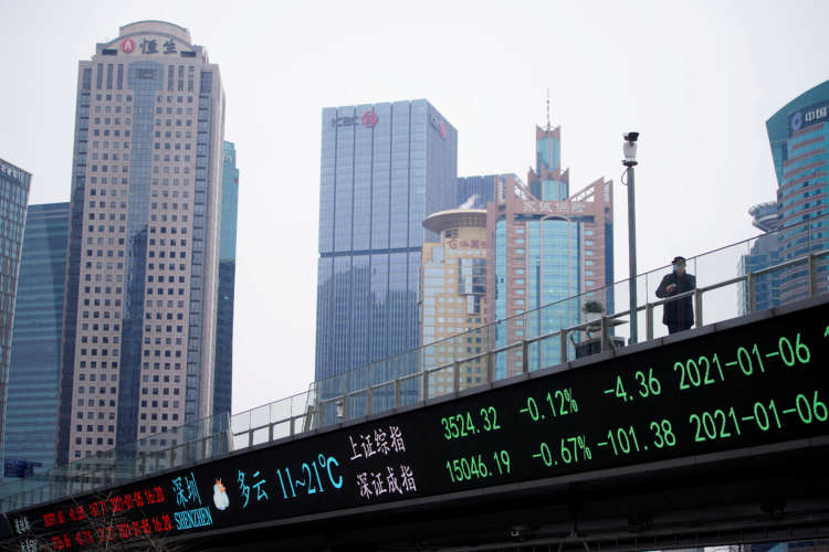 Asian shares hit new peaks, oil up on Middle East tensions 8