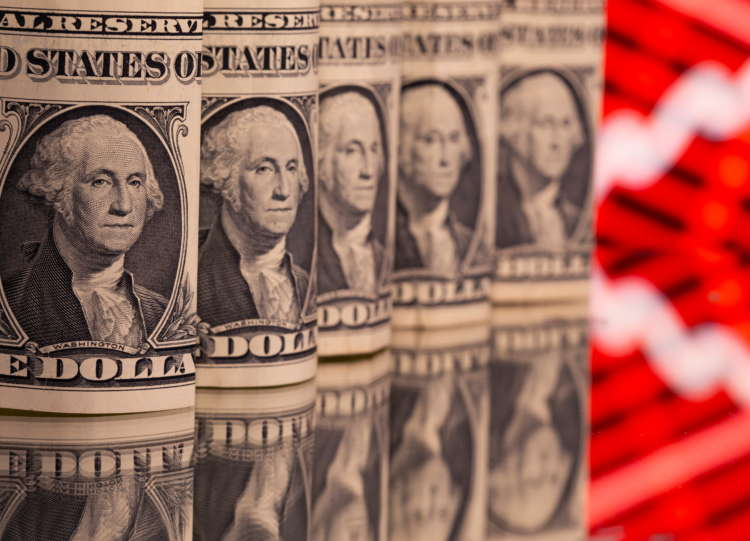 Dollar nursing losses after jobs data mars recovery narrative; sterling buoyant 12