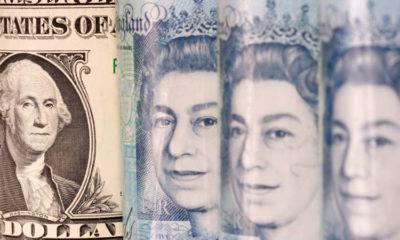 Sterling slips to 2-1/2 week low against dollar, eyes turn to UK budget 13