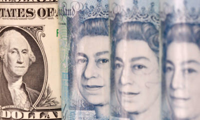 Sterling eases to 2-1/2 week low against dollar 8